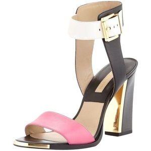 MICHAEL KORS Collection Tri Colourblock Sandals
